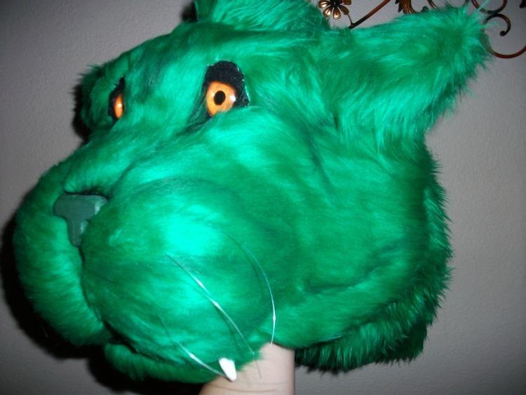 Green Quad Cat